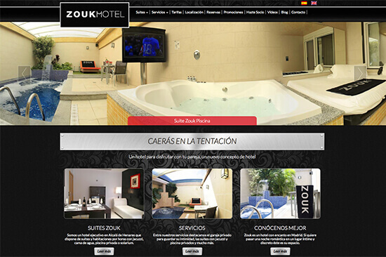 Zook motel begelei Madrid