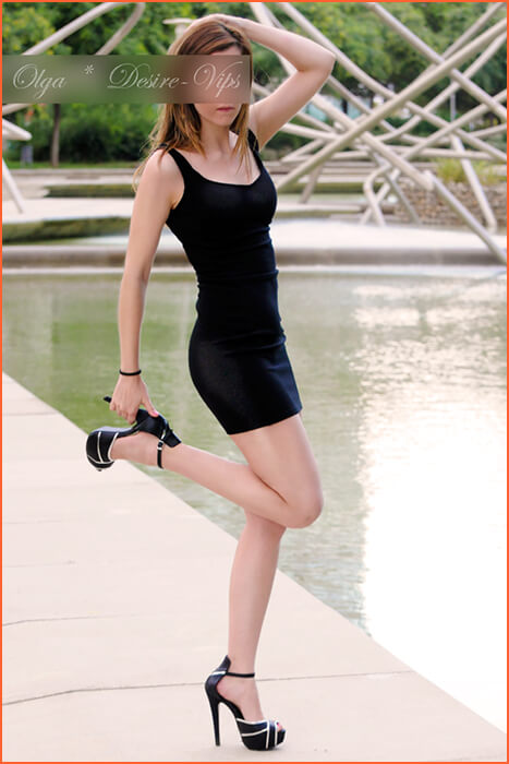 बार्सिलोना में ओल्गा विश्वविद्यालय युवा लड़की एस्कॉर्ट।