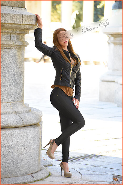 Paula acompañante española en Madrid.