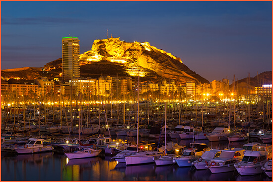 Escorts high standing in Alicante.