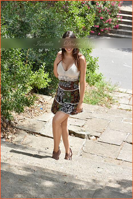 Isabella Italiaanse escort in Madrid.