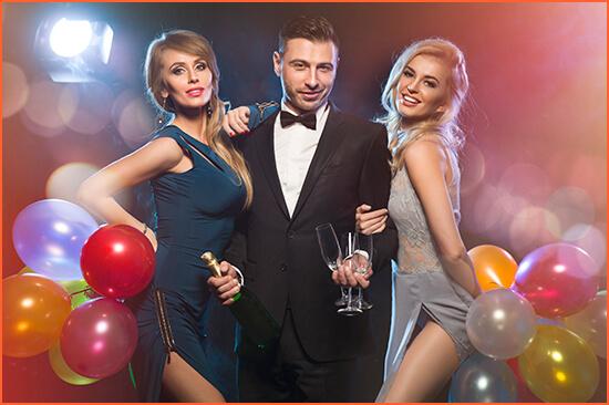 Año nuevo 2017 con escorts de lujo en Barcelona y Madrid.