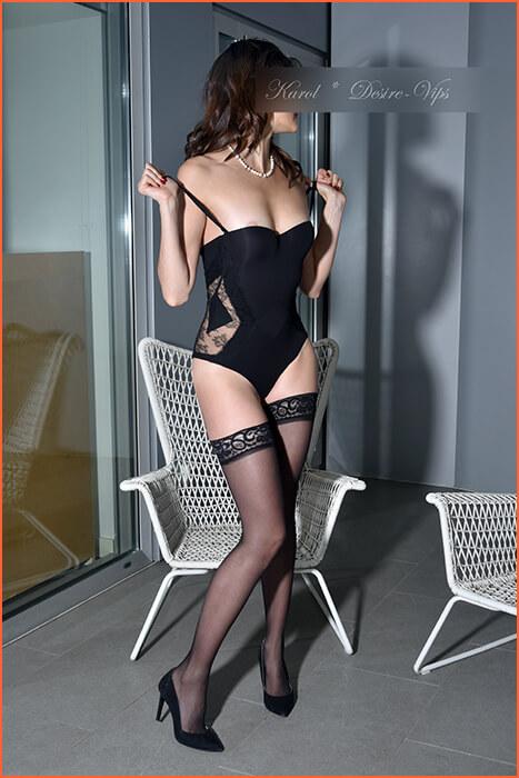 Karol og veldig fin modell eskorte i Barcelona og reise.
