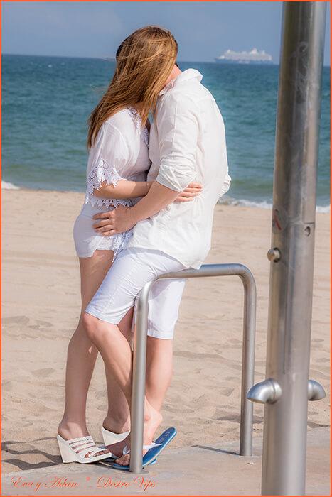 Eva i Adam pratitelji španjolski par.