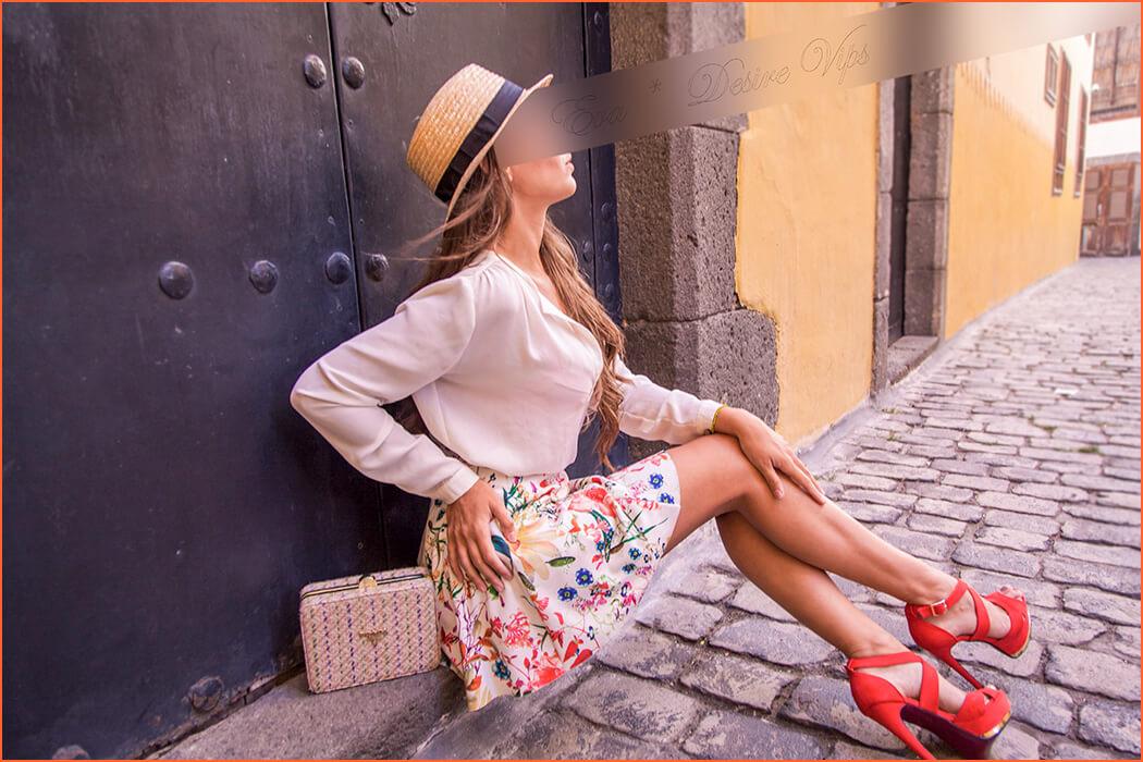 Eva eskolta luxuzko Espainiako Las Palmas.
