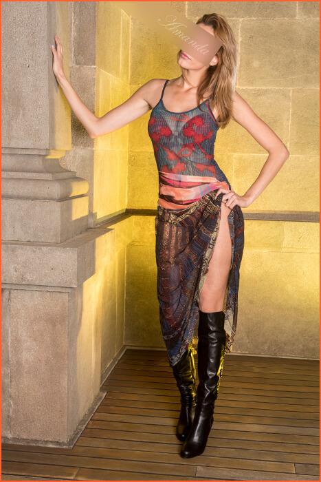 Amanda escortní model