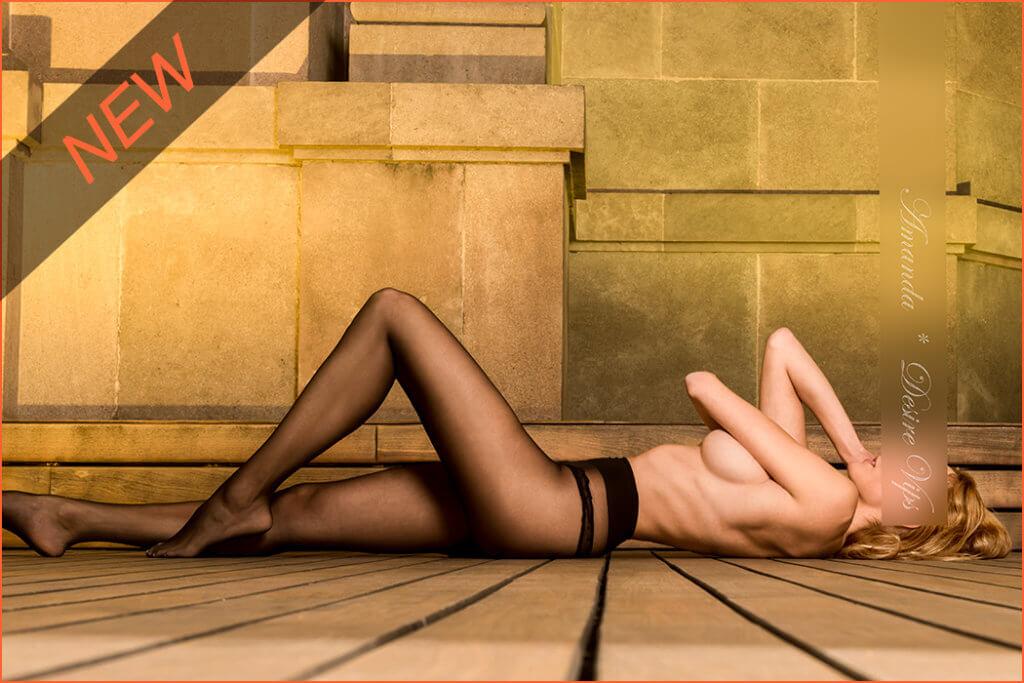 Բարսելոնայում բարձր դիրք ունեցող Amanda նոր մոդելը:
