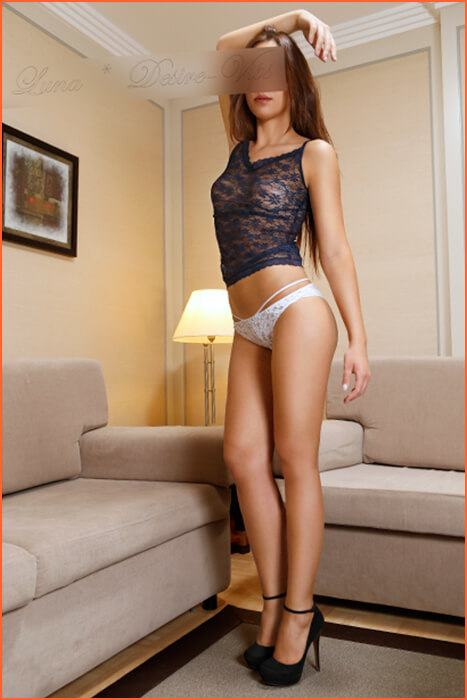 Spanish Moon een fascinerende escort girl.