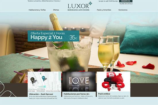 Luxor apartments Barcelona escorts.