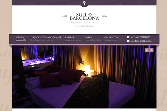Suites Barcelona doprovod.