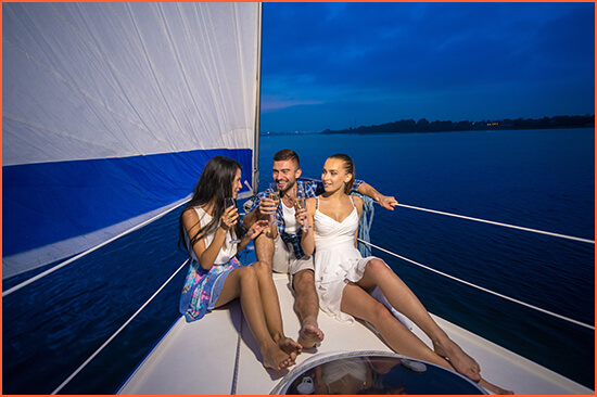 Barcelona Boat Show Swinger bisexual escorts.