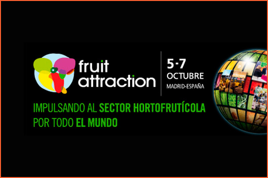 Feira Fruit Attraction Madrid.
