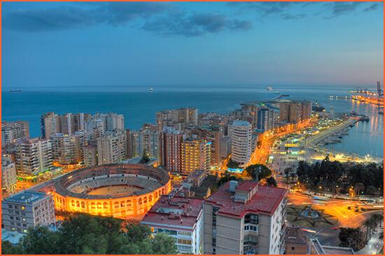 Málaga pratitelji.
