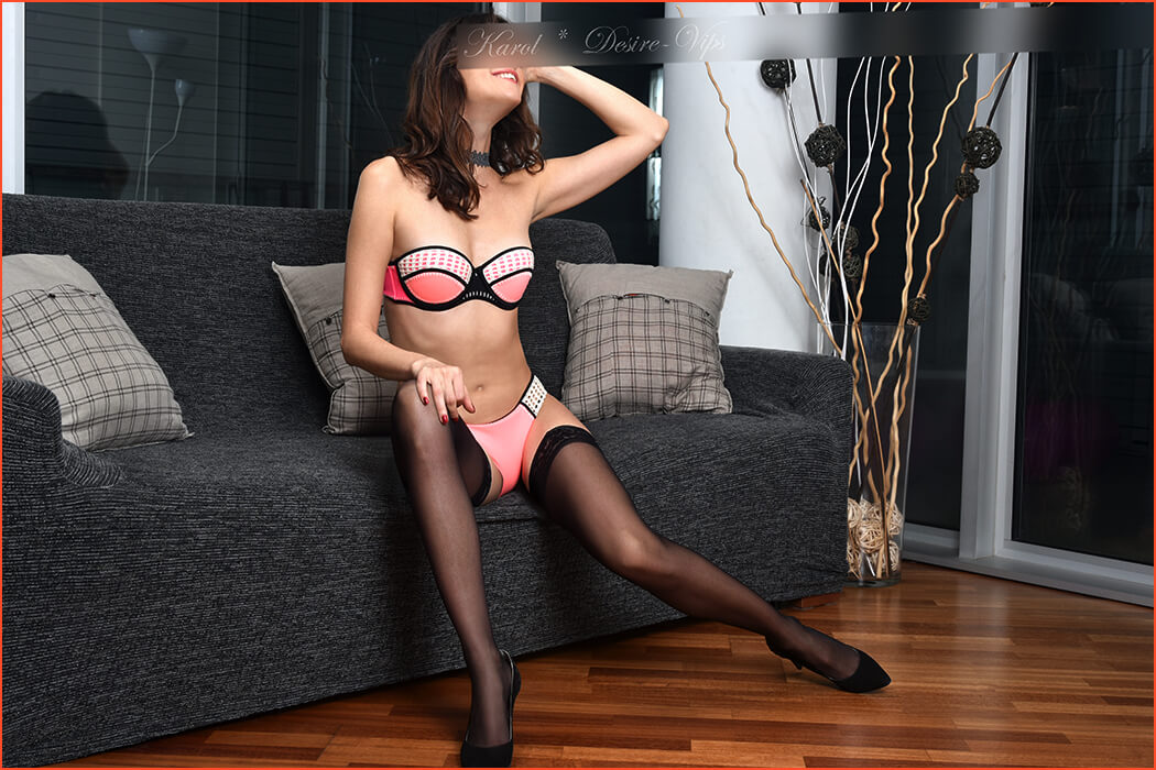 Karol escort girl in Barcelona.