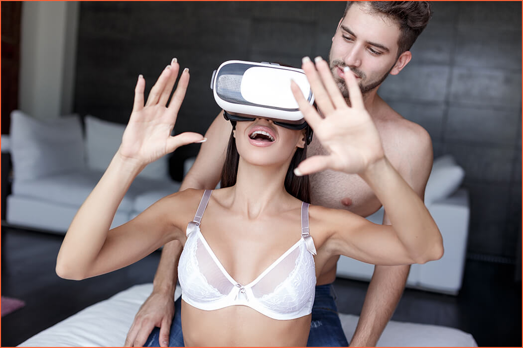 Mobile World Congress 2017 virtual reality with escorts.