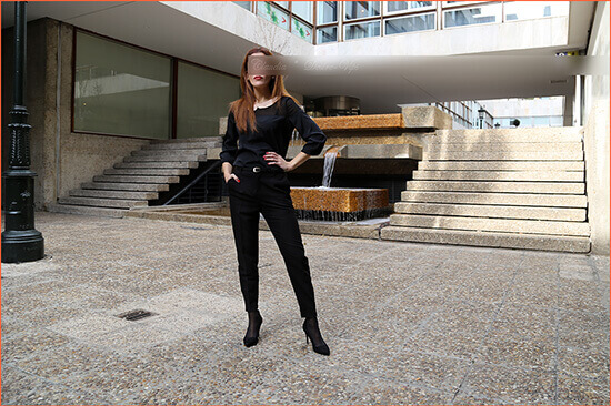 Claudia bisexual escort of luxury for couples Seville.