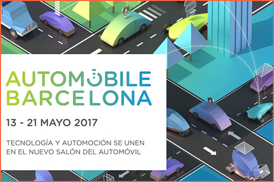Automobile 2017 Barcelonában.