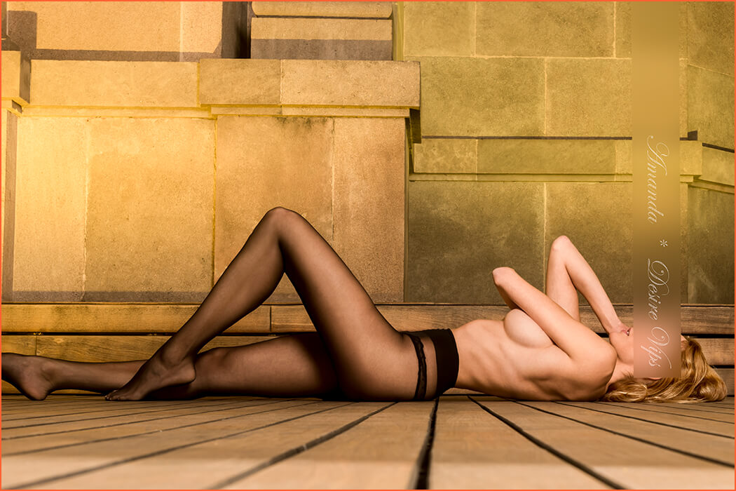 Аманда е много красив модел.