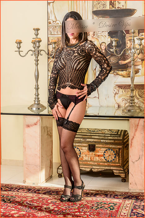 Melissa escort of high standing in Girona.