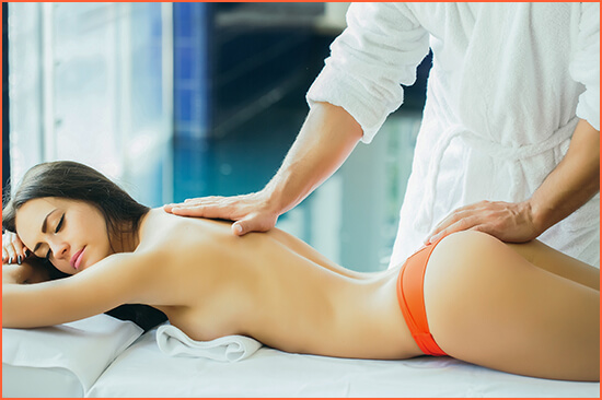 Massages with eroticism and sensuality