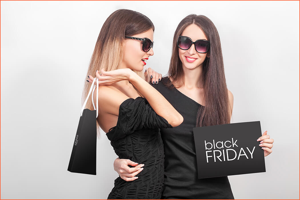 Luxe escortbureau in zwarte vrijdag