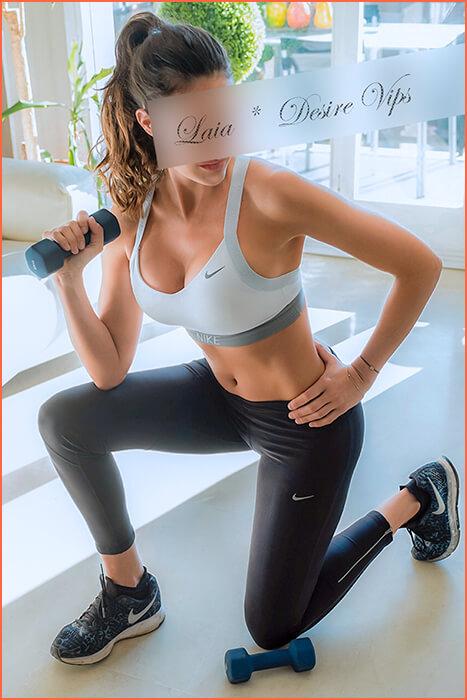 Model Spaanse escorts atleet